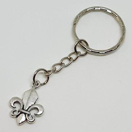 Brelok - Fleur De Lis - kwiat lilii, kategoria Kultura, cena 19,90 zł - BR_00251-brylok.pl