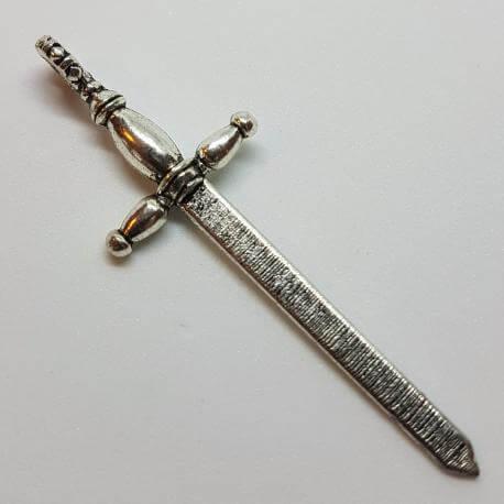 Zawieszka - miecz rycerski