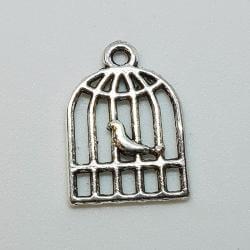 Zawieszka - ptaszek w klatce