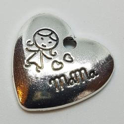 "Zawieszka - serce ""Love Mama"""