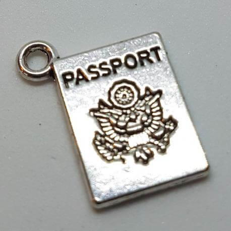 Zawieszka - paszport, kategoria Zawieszki, cena 12,00 zł - ZAW_00083-brylok.pl
