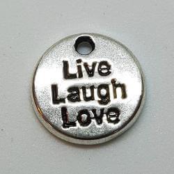"""Zawieszka - """"Live Laugh Love"""""""