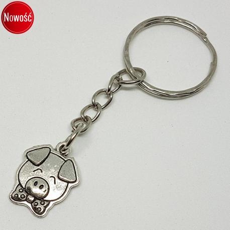 Brelok - świnka, kategoria Zwierzęta, cena 19,90 zł - BR_00380-brylok.pl
