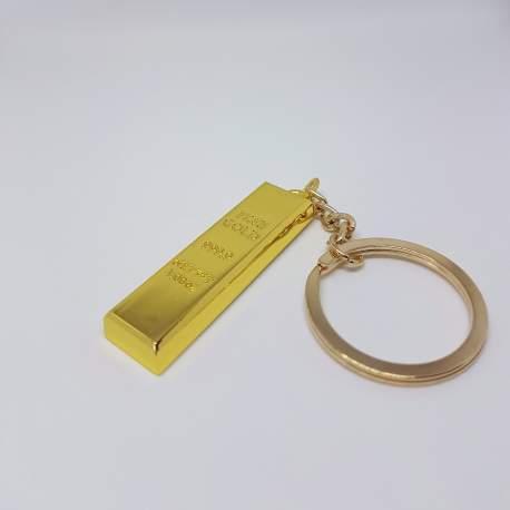 Brelok sztabka złota