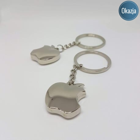 Brelok Deluxe - jabłko, kategoria Deluxe, cena 24,90 zł - BR_00167-brylok.pl