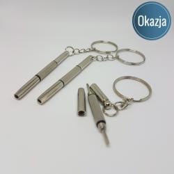 Brelok Deluxe - śrubokęt, kategoria Deluxe, cena 24,90 zł - BR_00162-brylok.pl