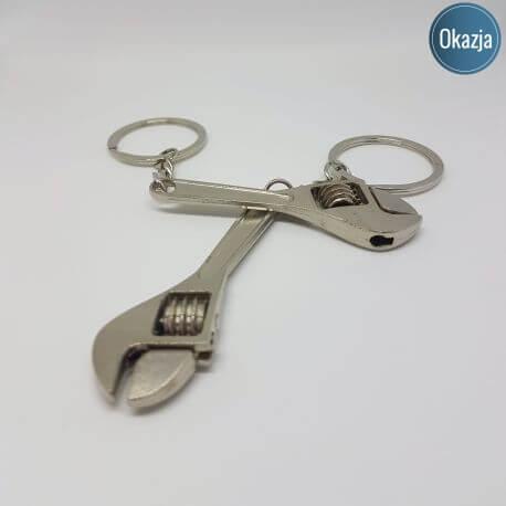 Brelok klucz francuski