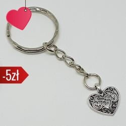 Brelok - serce, kategoria Miłość, cena 15,90 zł - BR_00115-brylok.pl