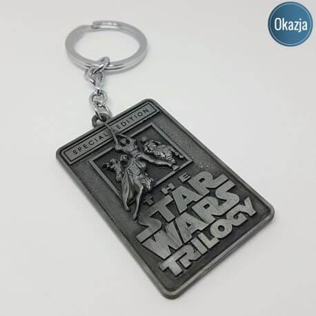 Brelok Deluxe - Star Wars Trilogy, kategoria Star Wars, cena 24,90 zł - BR_00159-brylok.pl