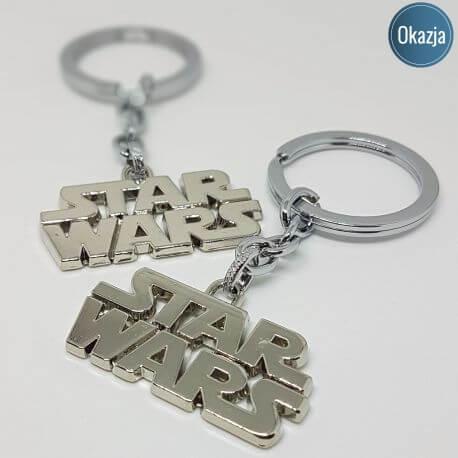Brelok Deluxe - Star Wars logo, kategoria Star Wars, cena 24,90 zł - BR_00158-brylok.pl