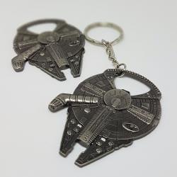 Brelok Deluxe - Star Wars Millennium Falcon Sokół Millenium z otwieraczem